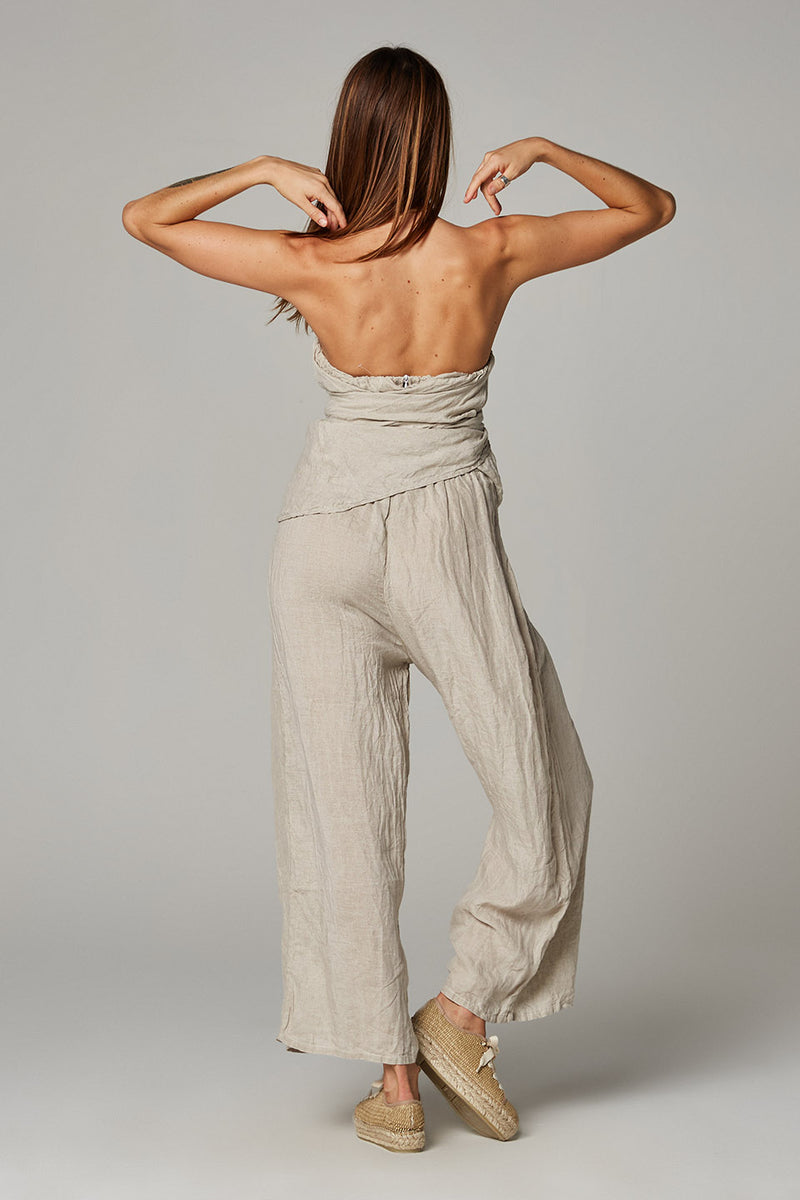 Eleganza Jumpsuit - Battista Natural