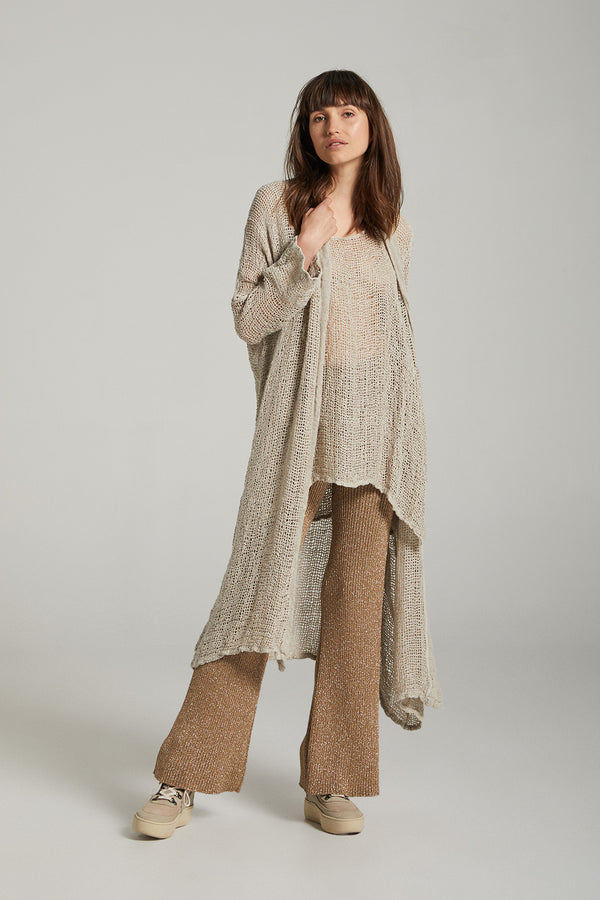 Maxi Vatica Coat - Pescatore Natural Gold