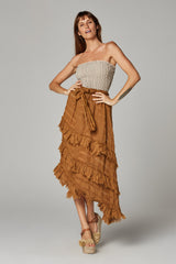 Sequoia Skirt II - Oro Stripe