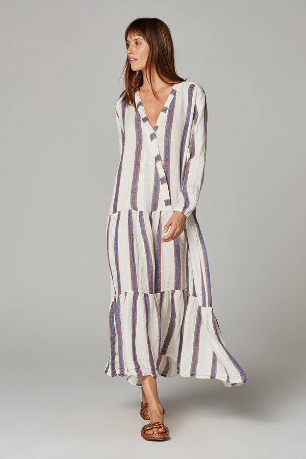 Lyla Maxi Dress - Roma Stripe