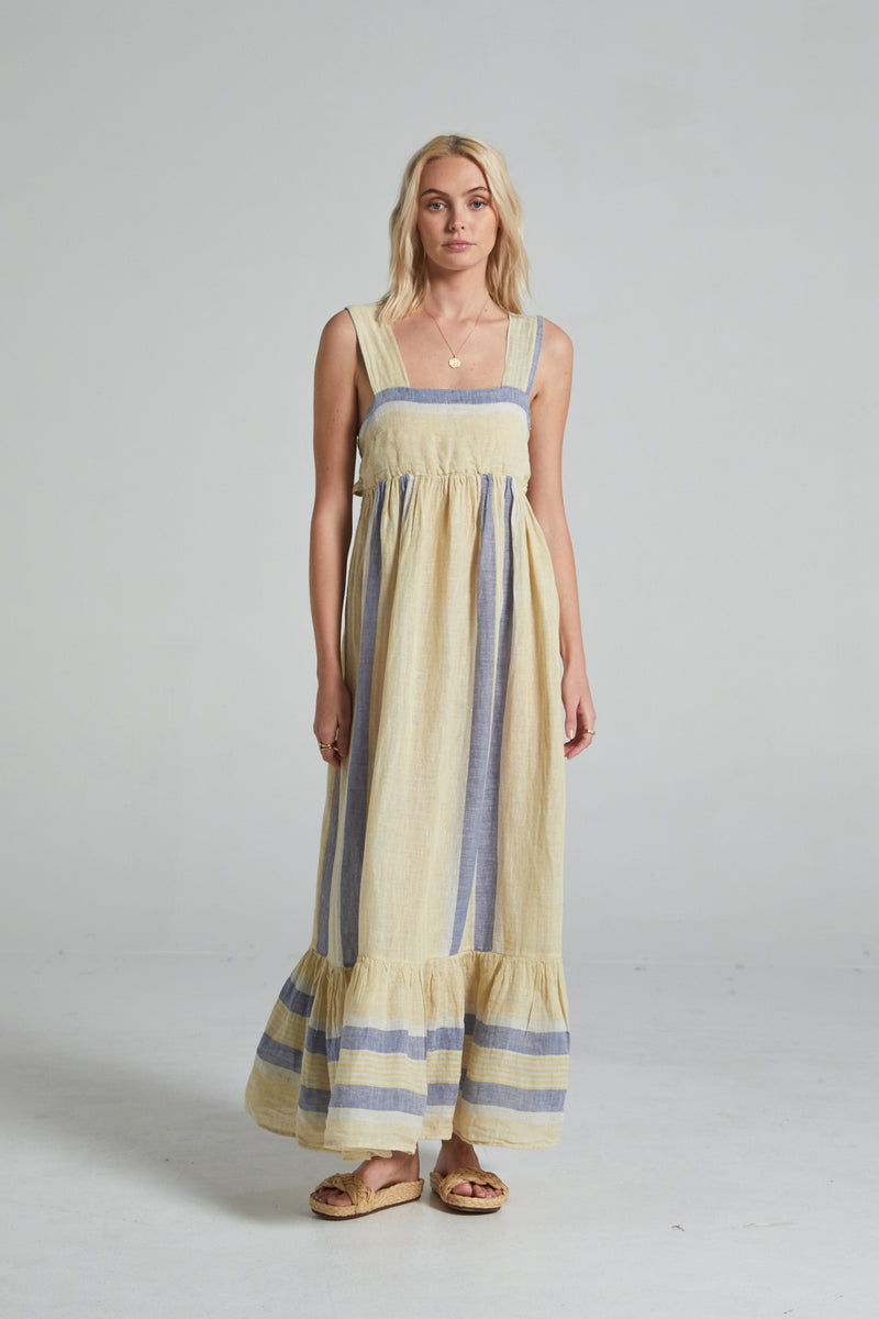 Bloom Dress - Allegria Stripe