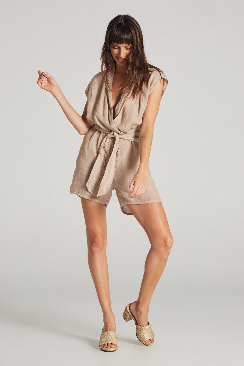 Mia Playsuit Rose