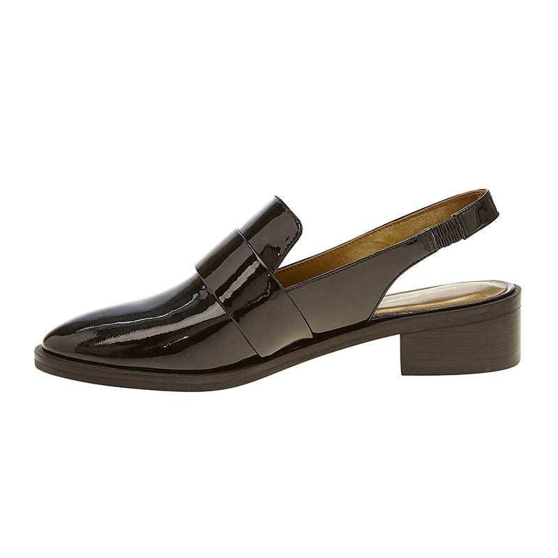 Patent Butler Loafer Black