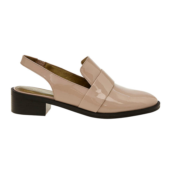 Patent Butler Loafer Blush