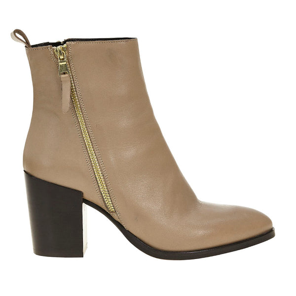 League Boot Taupe