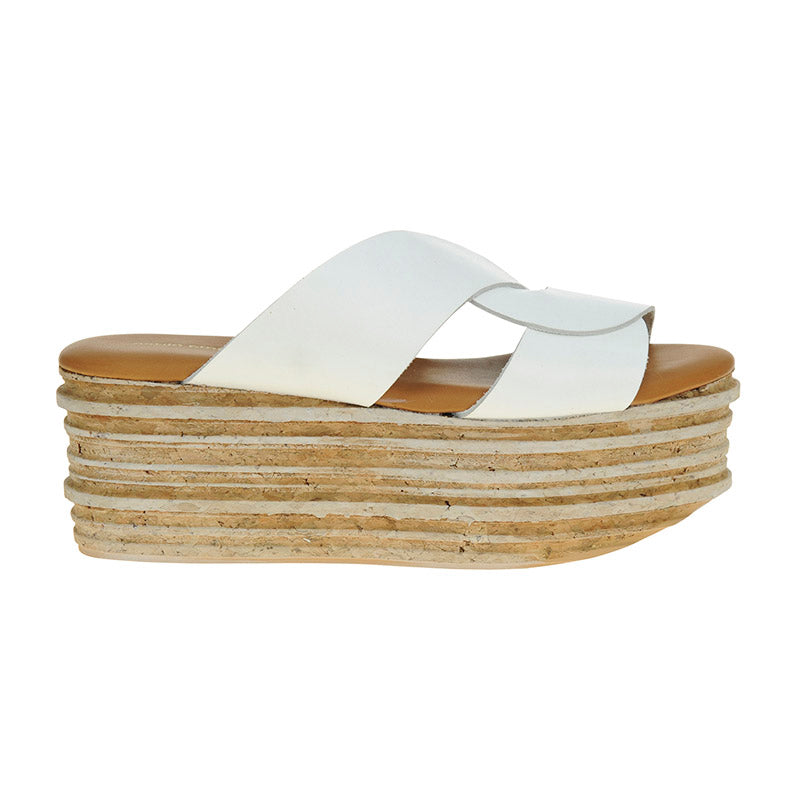 Andy Cork Platform White