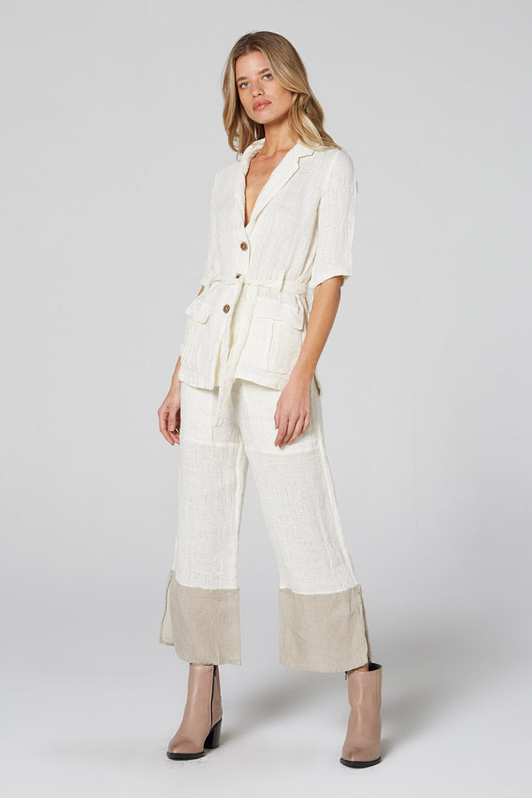 Lounge Pants Panna White/Natural