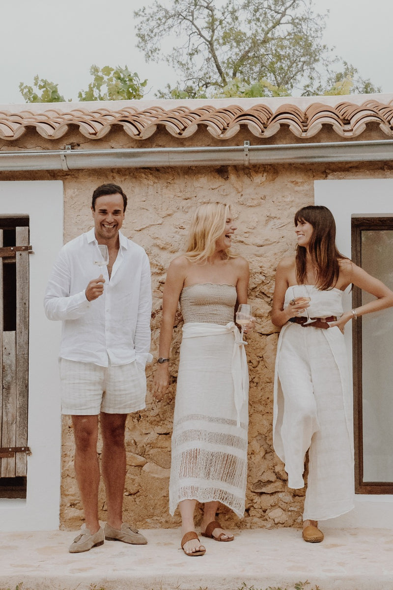 Playa Skirt Panna White