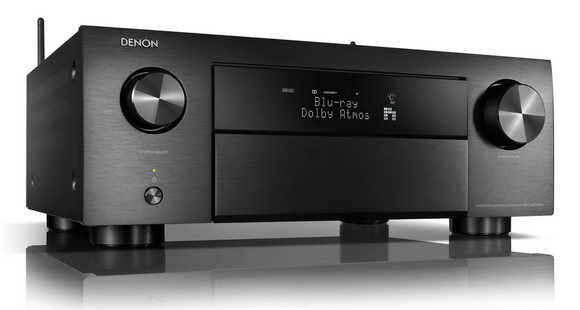 DENON - AVC-X4700H 9.2ch 8K AV Amplifier with 3D Audio, HEOS Built-in and Voice Control