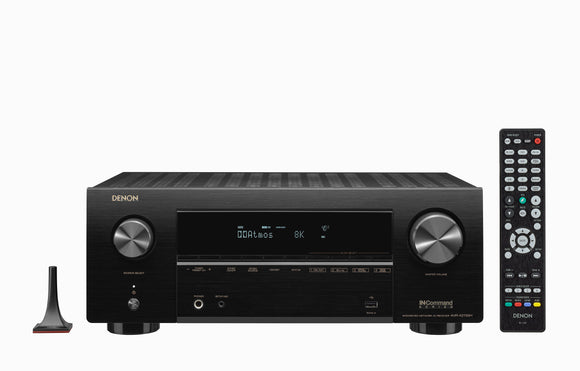 Denon AVR-X2700H - 7.2ch 8K AV Receiver with 3D Audio, Voice Control and HEOS Built-in®