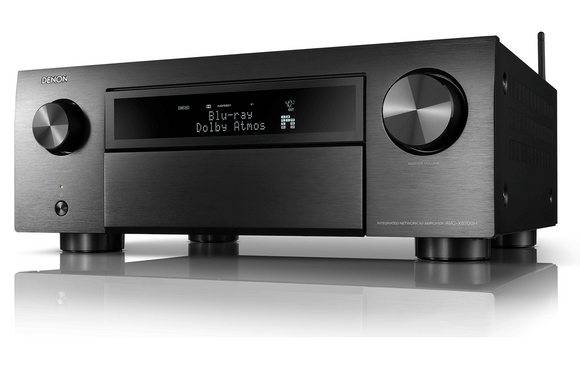 Denon - AVC-X6700H 11.2ch 8K AV Amplifier with 3D Audio, HEOS Built-in and Voice Control