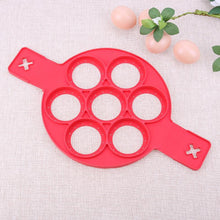 Load image into Gallery viewer, Pancake Maker Nonstick Cooking Tool Egg Ring Maker Egg Silicone Mold Pancake Cheese Egg Cooker Pan Kitchen Baking Accessory