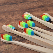 Load image into Gallery viewer, Bamboo Toothbrush Eco Friendly wooden