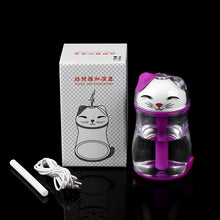 Load image into Gallery viewer, Lovely Lucky Cat LED Light Humidifier