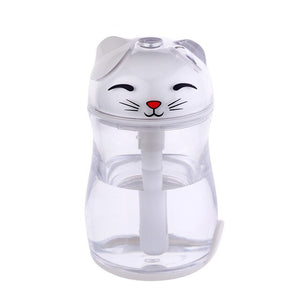 Lovely Lucky Cat LED Light Humidifier