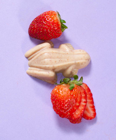 Strawberries and Cream - Frog