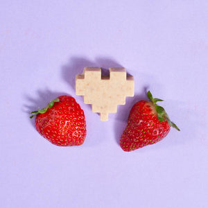 Strawberries and Cream - Heart