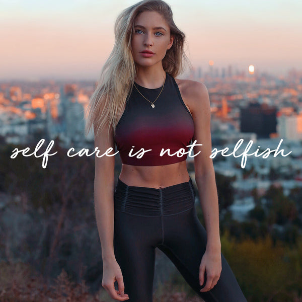 SELF CARE IS NOT SELFISH: Commit To WELLNESS This Season
