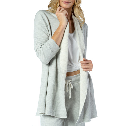 COZY FLEECE CARDIGAN