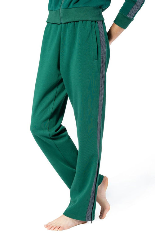 Chill By Will Comfortable Track Pant with Contrast Side Panel and Zip Slit Detail