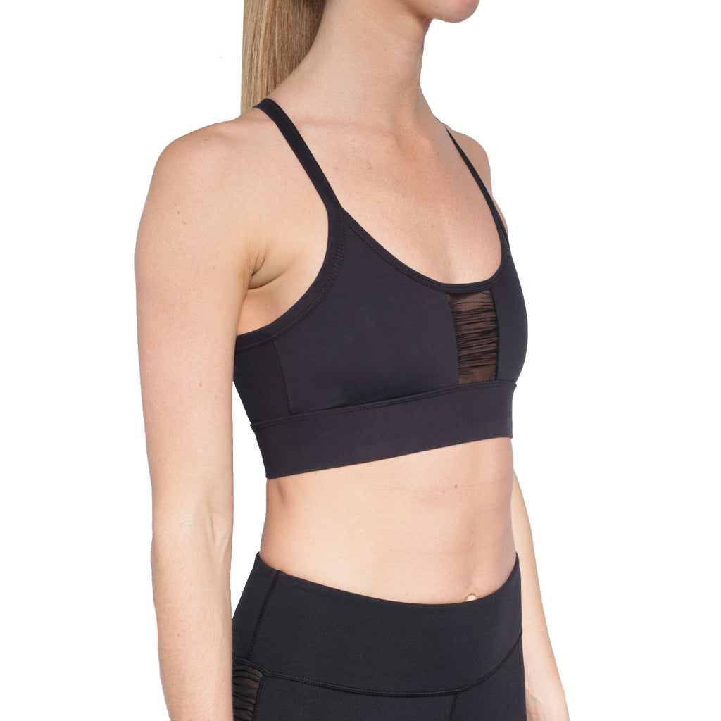 ASPIRE CENTER RUCHED BRA