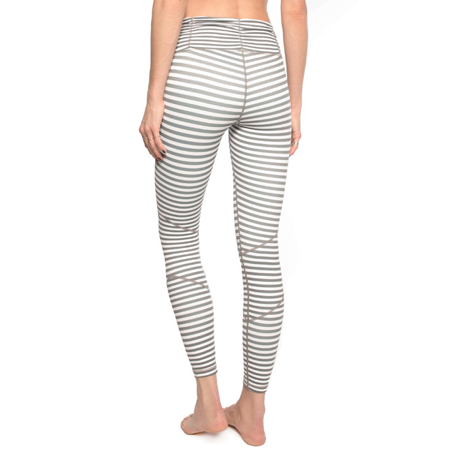 LOVE ANKLE STRIPE LEGGING