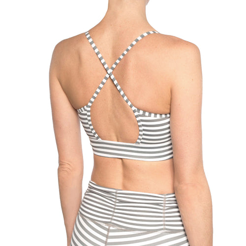 AMUSE STRIPE BRA
