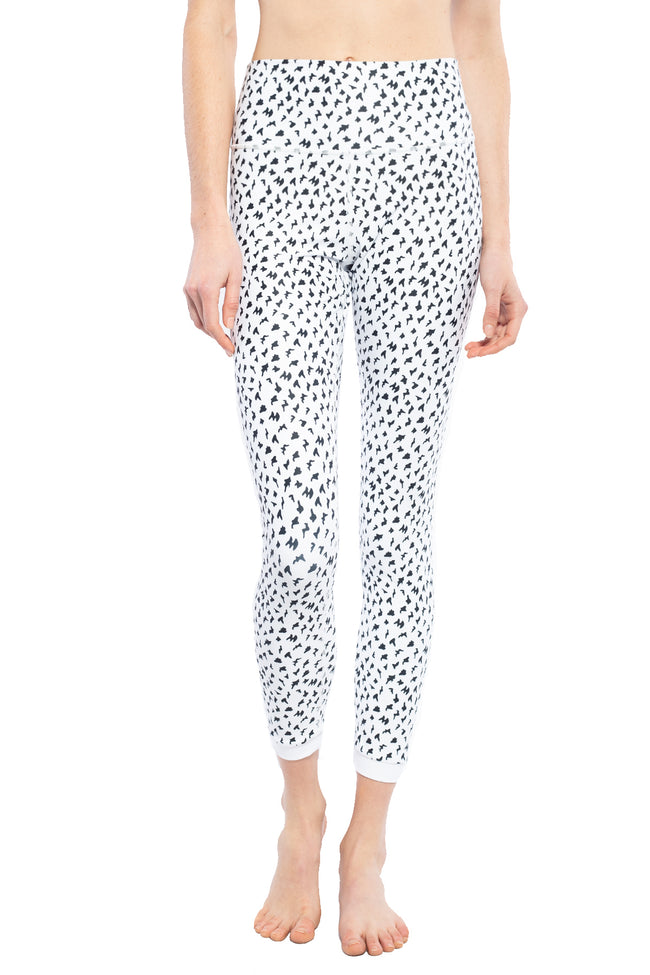 ISLA LEGGING BLACK/ WHITE ANIMAL