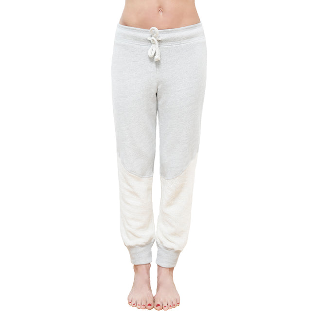Mellow Fleece Jogger Herringbone Pant
