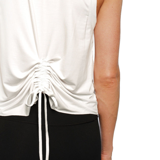 ZIGGY ROUCHED BACK TOP