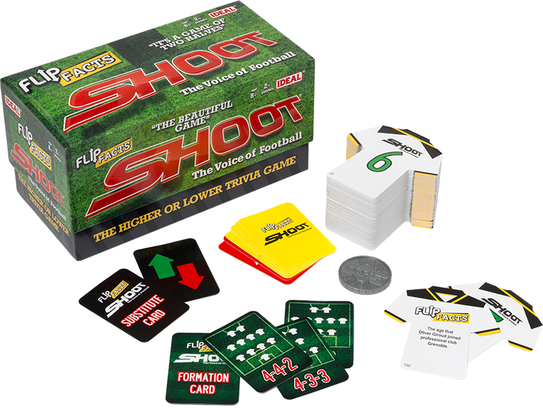 Sports Flip Facts Shoot Game