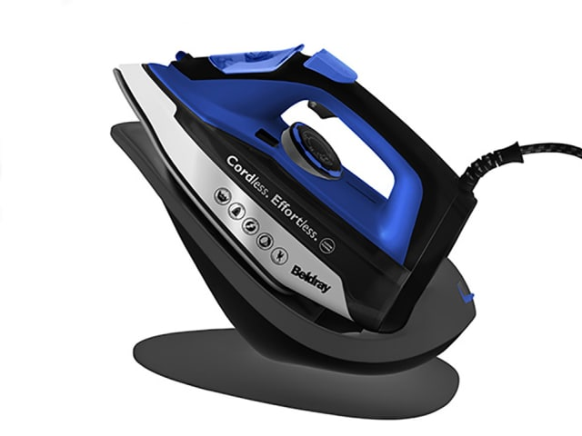 2 In 1 Cordless Ceramic Iron 2600W