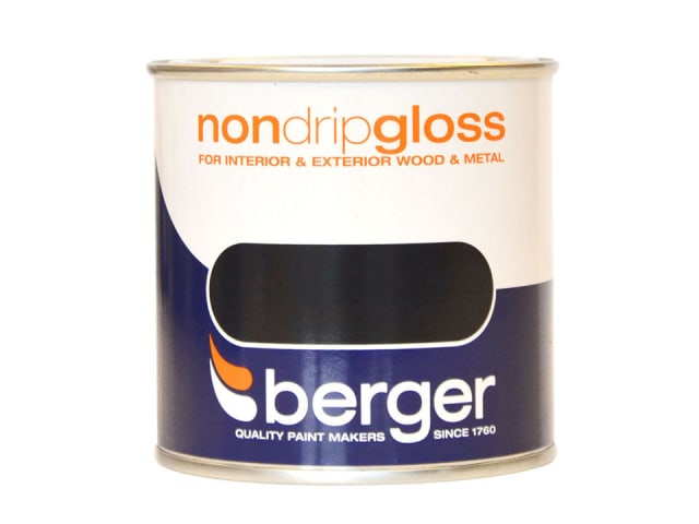 Non Drip Gloss Black 750ml