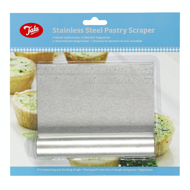 Tala Stainless Steel Pastry Scraper