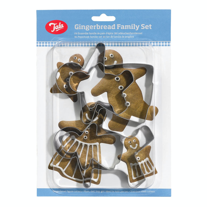 Gingerbread Family Set