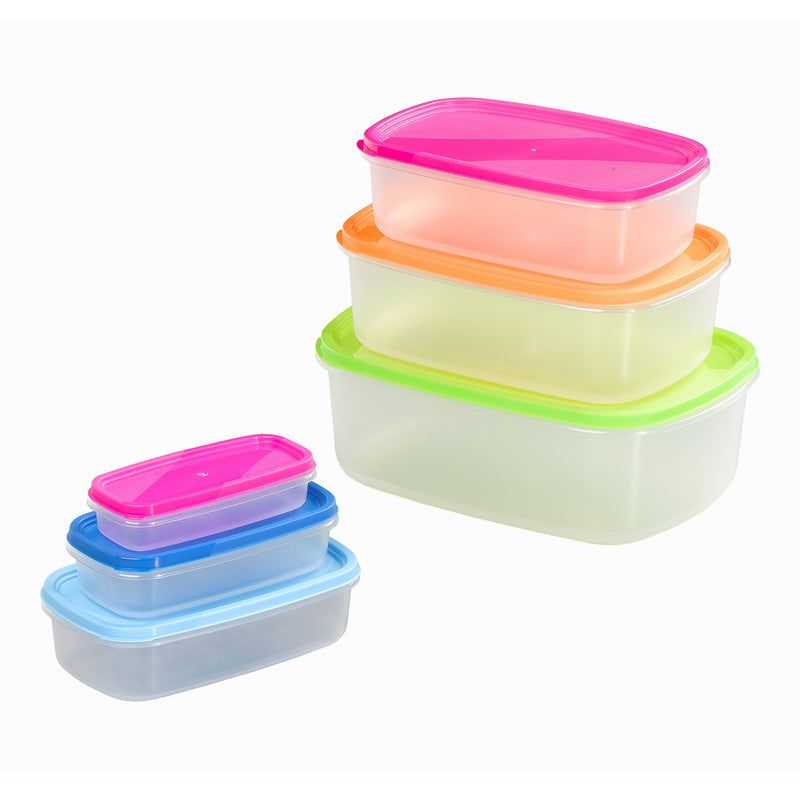 Chef Aid 6 Storage Containers