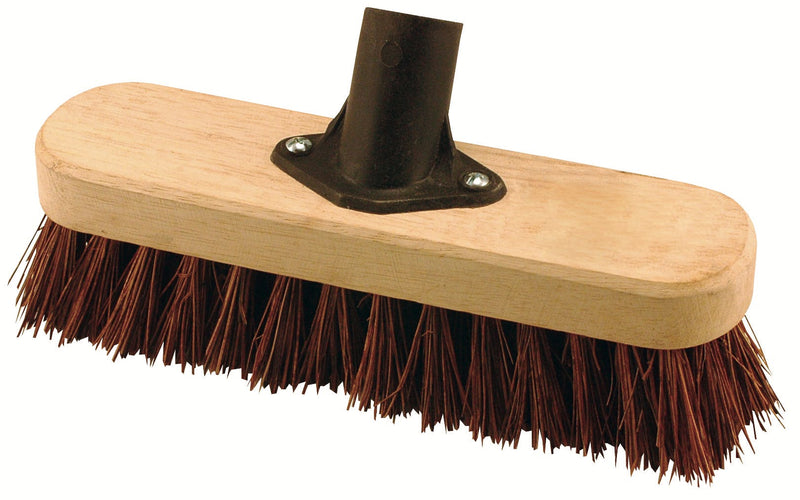 Deck Scrubbing Broom Head With Natural Bassine Fibres [HEAD ONLY, ORDER HANDLE SEPARATELY]
