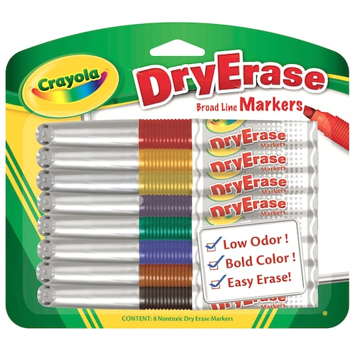 Dry Erase Markers 8 Pack