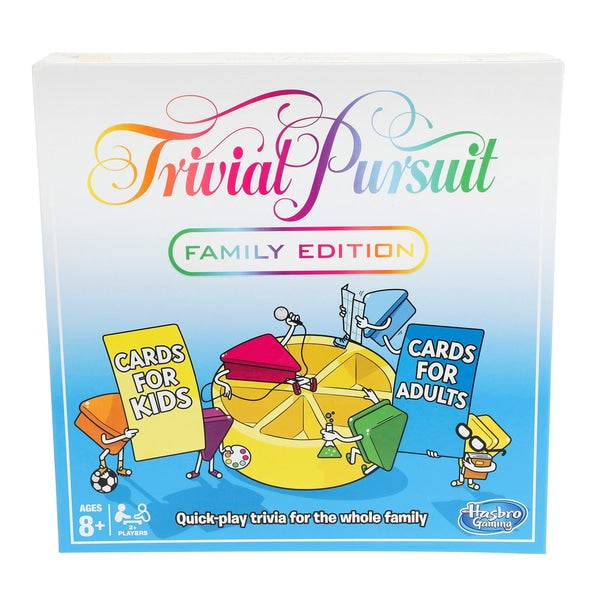 Family Trivial Pursuit Game