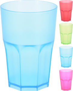 Plastic Cup Coloured