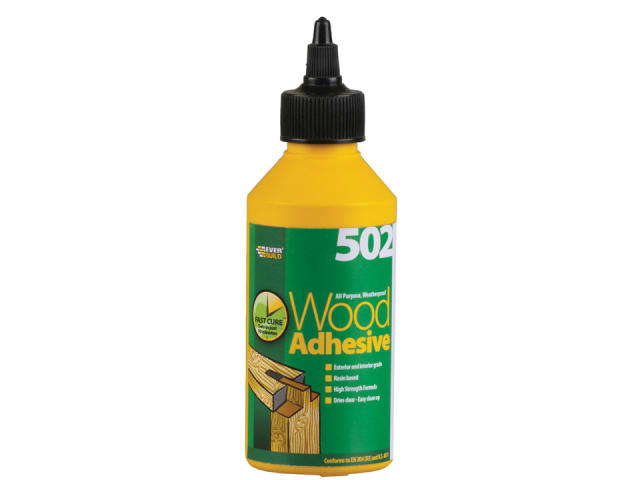 502 All Purpose Waterproof Wood Adhesive 250ml