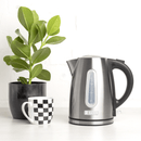 Haden Stoke Brushed Steel Kettle