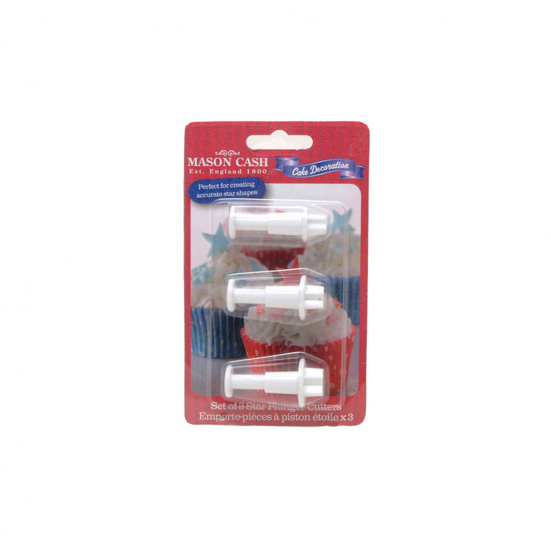 Star Plunger Cutters - 3 Pack