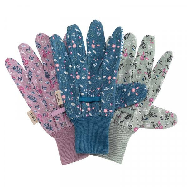 Flowefield Triple Pack Gardening Gloves