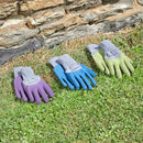 Medium All Seasons Gardening Gloves (Green)
