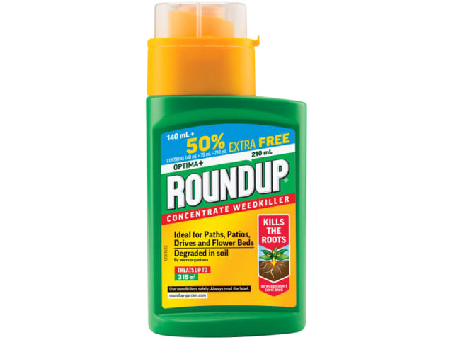 Roundup Optima Weedkiller 140ml+50%