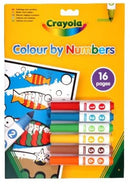 Colour By Numbers With 6 Markers