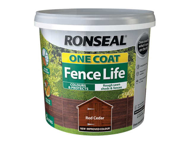 One Coat Fence Life Red Cedar 5L
