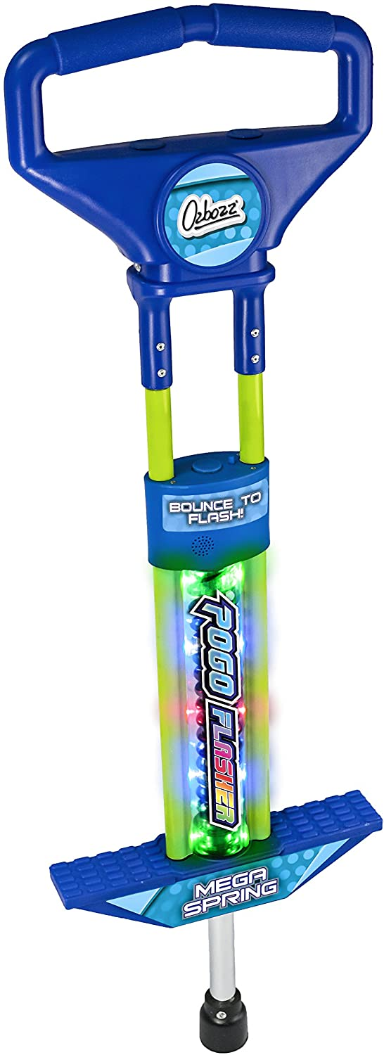 Blue Light Up Pogo Stick
