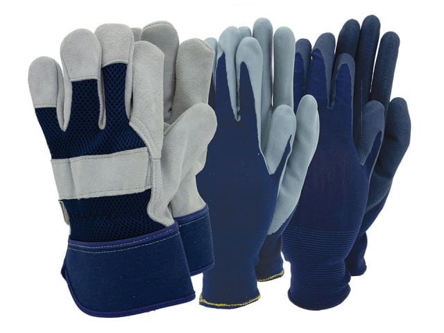 Mens Gloves With Rigger x 3
